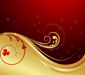 Swirl Floral Art