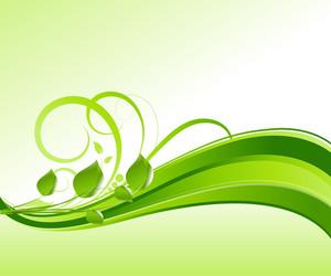 Swirl Flourish Background