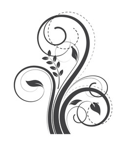 Swirl Flourish Decorative Elements