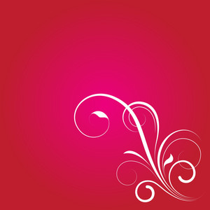 Swirl Flourish Design Background