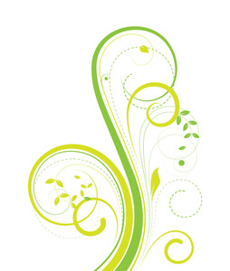Swirl Flourish Design Element