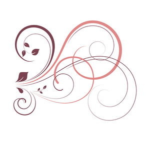 Swirl Flourish Graphic Design