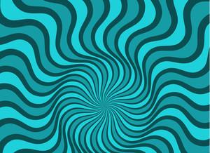 Swirl Sunburst Background