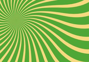 Swirl Vintage Sunburst