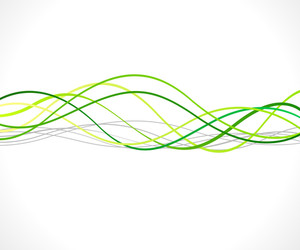 Swirl Wavy Lines