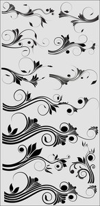 Swirly Design Vectors