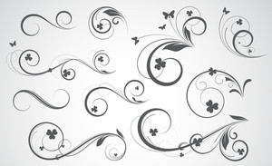 Swirly Vector Designs