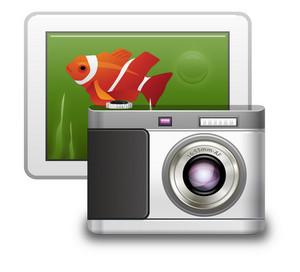 Tablet And Digital Photo Camera