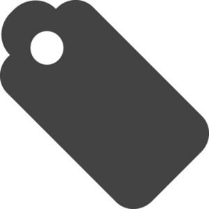 Tag 1 Glyph Icon