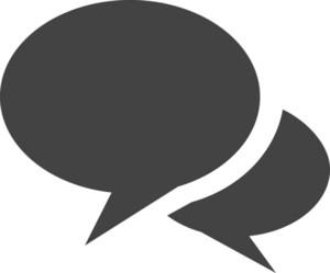 Talk 2 Glyph Icon
