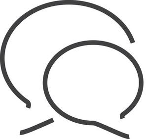 Talk 2 Minimal Icon