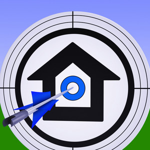 Target House Shows Purchase Property Mortgage Success