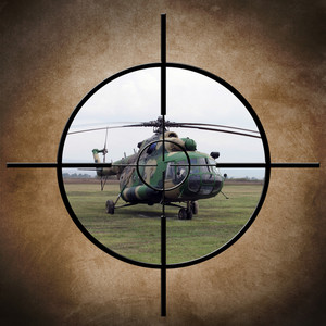 Target On Helicopter