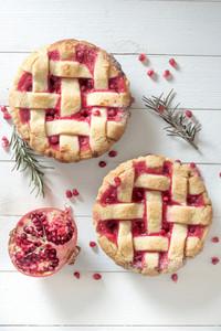 Pomegranate Pie
