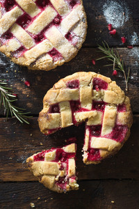 Pomegranate Pies