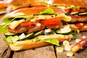 Tasty Burger Sandwich