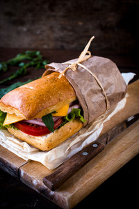 Tasty Ciabatta Sandwich