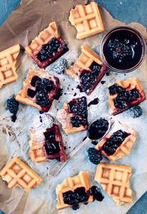 Tasty Homemade Waffles