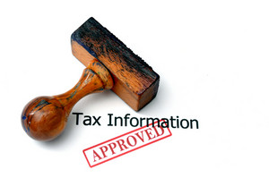 Tax Information - Approved