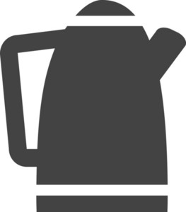 Tea Pot Glyph Icon