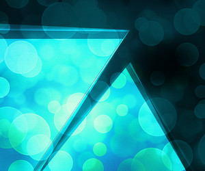Teal Abstract Background Image