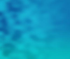 Teal Halftone Texture