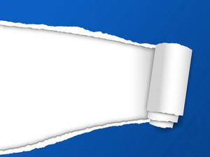 Tear Paper Banner