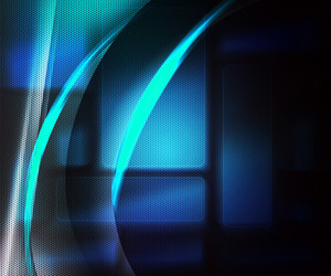 Tech Blue Abstract Background
