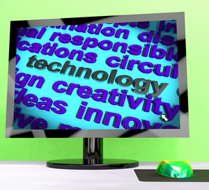 Technology Word Meaning Innovation Software And Hi Tech