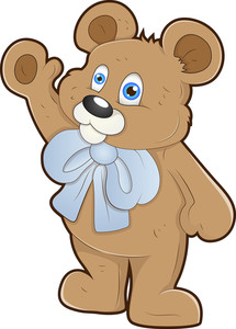 Teddy Bear - Cartoon Character