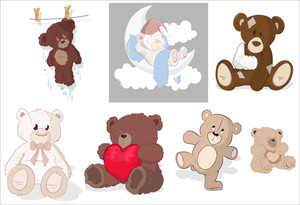 Teddy Bear Vectors