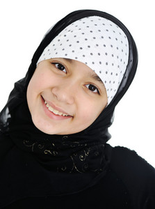 Teenage girl with hijab