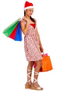 Teenager Christmas Shopping