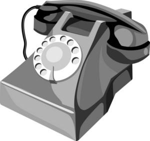 Telephone Retro Style