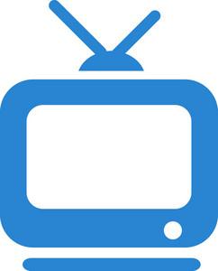 Television Simplicity Icon