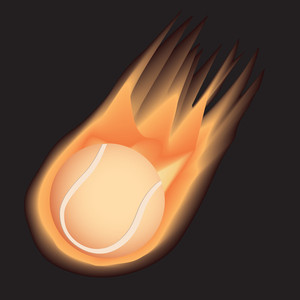 Tennis-fire