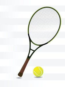 Tennis Rackets Background