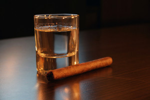 Tequila And Cigar