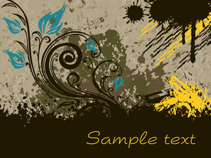 Texture Background With Artistic Design