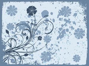 Texture Background With Flourish