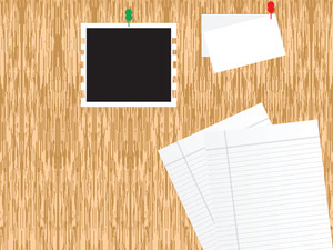 Texture Background With Papers