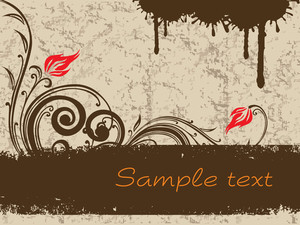 Texture Background With Swirls