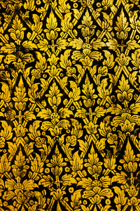 Thai Art Pattern Old Style