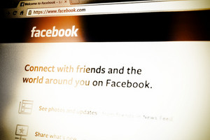 THAILAND - SEPTEMBER 2, 2014: Facebook page first landing homepage view on web browser.