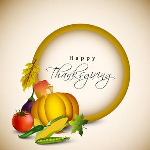 Thanksgiving Background.