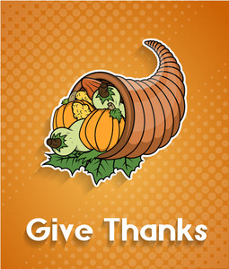 Thanksgiving Day Retro Graphic