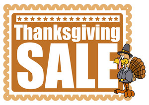 Thanksgiving Day Turkey Sale Banner