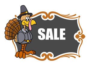 Thanksgiving Day Turkey Sale Banner