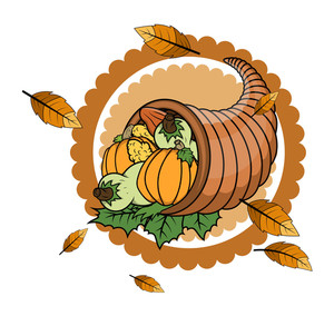 Thanksgiving Day Vector Objects