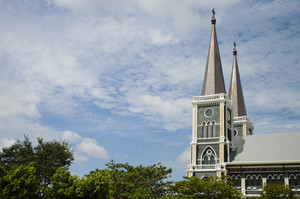 the cathedreal of the immaculate conception, Chanthaburi, Thaila